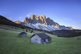 The Group of Odle Viewed from Gampen Alm at Dawn. Funes Valley. Dolomites South Tyrol Italy Europe Impressão fotográfica por  ClickAlps