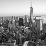 One World Trade Center and Lower Manhattan, New York City, New York, USA Photographic Print by Jon Arnold