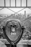 Usa, New York, Manhattan, Lower Manhattan from Empire State Building, Freedom Tower in Background Reproduction photographique par Alan Copson