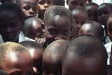 Masai children in Tanzania, 2007 Lámina fotográfica por Richard Human
