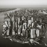 One World Trade Center and Lower Manhattan, New York City, New York, USA Fotografie-Druck von Jon Arnold