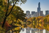 Fall Foliage at Central Park, Manhattan, New York, USA Photographic Print by Stefano Politi Markovina