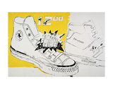 Converse Extra Special Value, c. 1985-86 Art by Andy Warhol