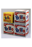 Brillo Boxes, 1963-1964 Arte di Andy Warhol
