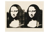 Double Mona Lisa, 1963 Plakater af Andy Warhol