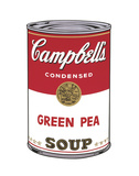 Campbell's Soup I: Green Pea, 1968 Affiches par Andy Warhol