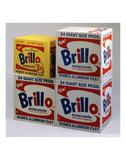 Brillo Boxes, 1963-1964 Poster di Andy Warhol
