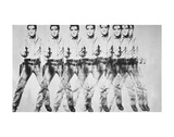 Eight Elvis, 1963 Poster di Andy Warhol