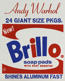 Brillo Box (detail), 1964 Prints by Andy Warhol