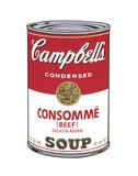 Campbell's Soup I: Consomme, 1968 Art par Andy Warhol