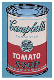 Colored Campbell's Soup Can, 1965 (pink & red) Arte por Andy Warhol