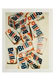 Brillo Boxes, 1979 Kunstdruck von Andy Warhol