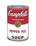 Campbell's Soup I: Pepper Pot, 1968 Poster af Andy Warhol