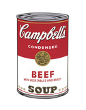 Campbell's Soup I: Beef, 1968 Affiches par Andy Warhol