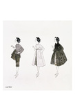 Untitled (Three Female Fashion Figures), c. 1959 Plakater af Andy Warhol