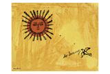 So Sunny, c. 1958 Posters av Andy Warhol