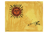 So Sunny, c. 1958 Art by Andy Warhol