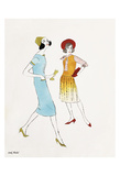 Untitled (Two Female Fashion Figures), c. 1960 Plakater af Andy Warhol