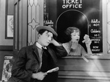 Buster Keaton, Ruth Holly, 1924 Lámina fotográfica