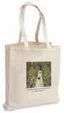 Gustav Klimt - Garden Path with Chickens Tote Bag Handleveske