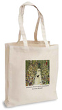 Gustav Klimt - Garden Path with Chickens Tote Bag Tote Bag