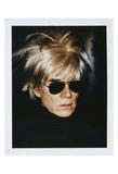 Self-Portrait in Fright Wig, 1986 Poster von Andy Warhol