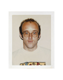 Haring, Keith, 1986 Poster von Andy Warhol