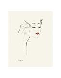 Untitled (Female Head and Hands Applying Eyeliner), c. 1955 ポスター : アンディ・ウォーホル