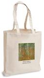 Gustav Klimt - Birch Forest Tote Bag Handleveske