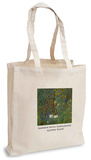 Gustav Klimt - Garden with Sunflowers Tote Bag Handleveske