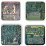 Gustav Klimt Coaster Set 6 Coaster