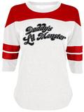 Juniors: Suicide Squad - Daddy's Little Monster (Raglan) Raglan-T-Shirts für Damen