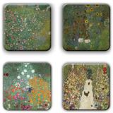 Gustav Klimt Coaster Set 4 Coaster