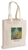 Gustav Klimt - Flower Garden Tote Bag Indkøbstaske