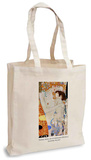 Gustav Klimt - Three Ages of a Woman (Detail) Tote Bag Tragetasche