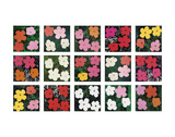 Flowers (various), 1964 - 1970 Poster von Andy Warhol