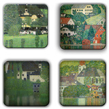 Gustav Klimt Coaster Set 7 Coaster