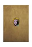 Marilyn Monroe dorée, 1962 Poster par Andy Warhol