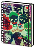 Suicide Squad - Skulls A5 Notebook Notizbuch