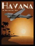 Havanna Kunstdrucke von Jason Giacopelli