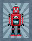 Robot II Prints by Teresa Woo
