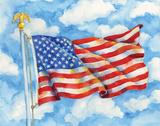Stars & Stripes Forever Poster von Paul Brent