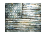 Patriotic Glory Giclee Print by Sydney Edmunds