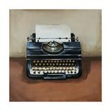 Vintage Classics I - typewriter Giclee Print by Sydney Edmunds