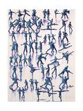 Lets Dance Everyday Giclée-tryk af Farrell Douglass