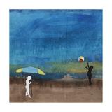 Beach Bums Giclee Print by Clayton Rabo