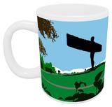 Angel of the North Mug Mug