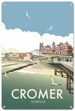 Cromer, Norfolk Blechschild