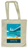 Grand Pier, Weston-Super-Mare Tote Bag Tote Bag