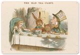 Alice in Wonderland - The Mad Hatter's Tea Party Blechschild